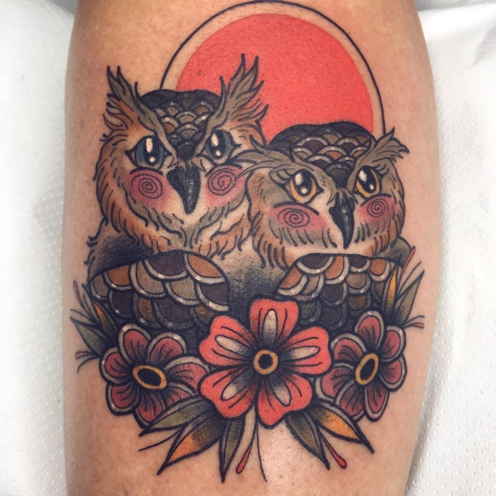 tatuajes buhos hector