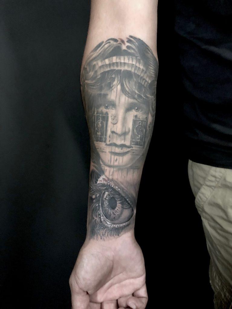 tatuaje marconi jim morrison
