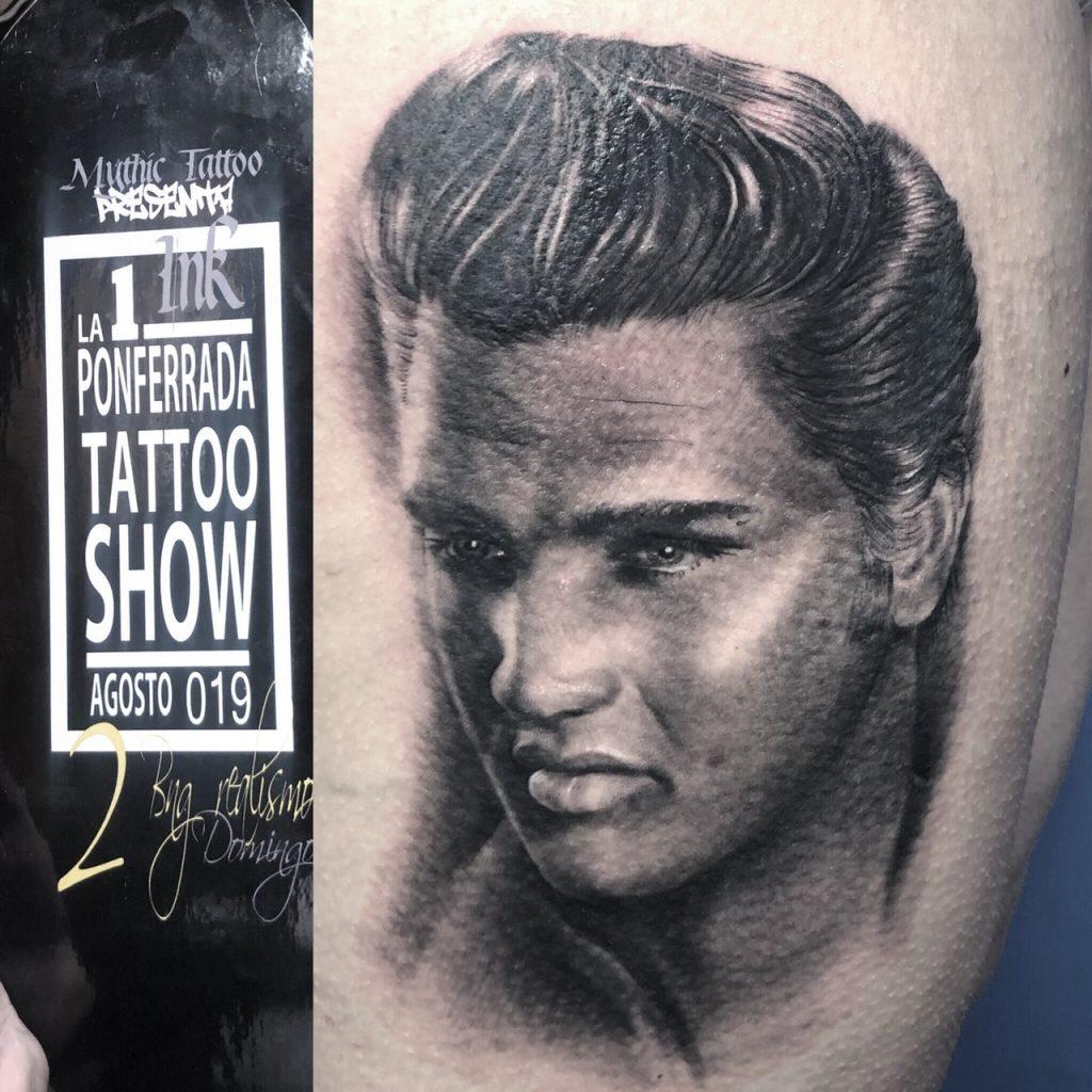 tatuaje elvis